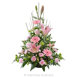 BELOVED Traditional tall arrangement AUS 839