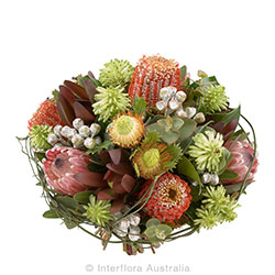 BUSH BEAUTY Arrangement of mixed wild flowers AUS 805