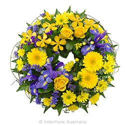 FAITH Cluster wreath suitable for service AUS 846
