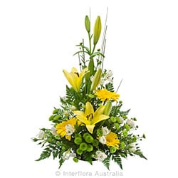 UNFORGETABLE Tall traditional arrangement AUS 838