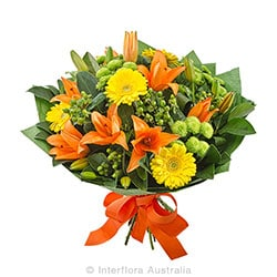 Zesty Bright mixed bouquet AUS 803