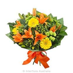 Zesty Bright mixed bouquet AUS 803
