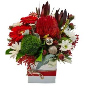 Christmas Flowers Dasher