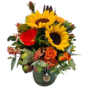 Christmas Flowers Prancer