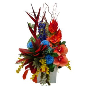 bright mix silk arrangements