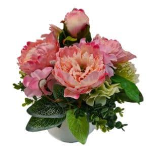 Pretty Pinks Silk Arrangement